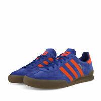 Adidas Originals Vaqueros Azules Zapatillas Rojas Dublín Retro Restos de Stock