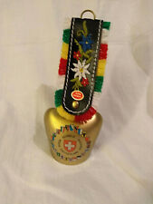 Ornate Cow Bell from Switzerland