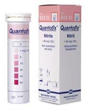 Quantofix® Nitrite Test Strips 1-80 mg/L NO2-  Ref: 913 11