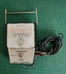 Vintage tachometer DWELL, mechanics tool