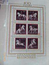 Osterreich Austria 1972 Block 4 mint