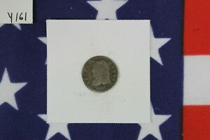 1837 Capped Bust Half Dime - Good Condition  (Y161)