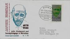 """BRD FDC MiNr 973 (2Pa) """"100. Geburtstag von Dr. Janusz Korczak"""" -Arzt-Medizin-"""