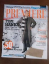 PREMIERE MAGAZINE NOVEMBER 2004 TOM HANKS POLAR EXPRESS LORD OF OF RINGS VIGGO
