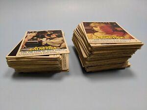 Job lot Topps BATTLESTAR GALACTICA Trading Cards 1978