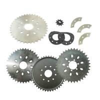 36/38/40/44 Tooth Sprocket Mount Pads Kit 49cc 66cc 80cc Motorised Bicycle Motor