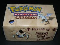 Pokemon Fossil Set Storage Box / Card Box - Holds 450+ Cards - MINT Condition