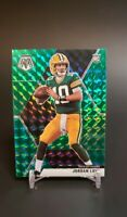 2020 Mosaic JORDAN LOVE Green Prizm Rookie Card #211 RC Green Bay Packers