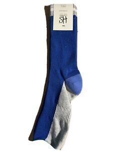 HS By Happy Socks Blue & Gray Men's Size 8-12