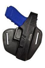B9 GL Pistolenholster Leder Holster für Glock 17 22 31 37 von VlaMiTex schwarz