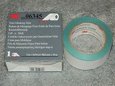 "BRAND NEW ROLL OF 3M 06345 TRIM MASKING TAPE 6345, 2"" X 10.94 YD, 50.8 MM x 10 M"