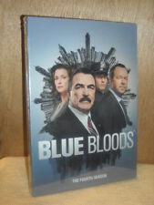 Blue Bloods: The Fourth Season (DVD, 2014, 6-Disc Set) Tom Selleck