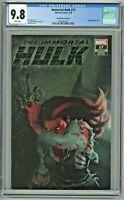 Immortal Hulk #17 CGC 9.8 Razzah Variant Cover ComicXposure Edition LGY 734