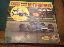 ALBUM FIGURINE PANINI - STORIA DELL'AUTOMOBILE 1971 QUASI COMPLETO 251 FIGURINE
