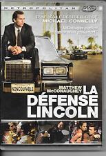 DVD ZONE 2--LA DEFENSE LINCOLN--McCONAUGHEY/TOMEI/H.MACY/PHILIPPE