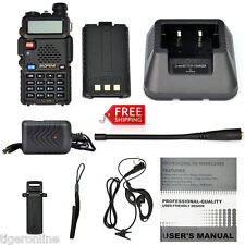 Portable Transceiver Radio Scanner Handheld Police Fire Vhf Fm Ems Ham Two Way