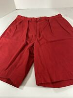 Vintage Polo Ralph Lauren Andrew Short Pleated Front Shorts Mens Sz 30 Red