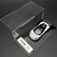 ScaleMini 1:64 Scale Ferrari 458 White Car Model LB Performance Limited Edition