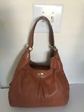Coach Handbag Maggie Carmel Brown Shoulder Bag 21225