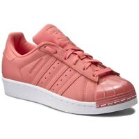 adidas Superstar Metal Toe W Sizes 3.5, 6.5, 7 Pink RRP £90 Brand New BY9750