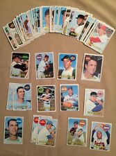 Topps Baseball Cards 1969 Lot Of 51 Commons. Various #102-#199.