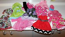 """Huge Lot Of Unique Handmade American Girl Clothes For 18"""" Doll"""