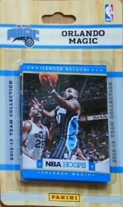 Orlando Magic 2012 2013 Hoops Factory Team Set with Dwight Howard Redick Plus