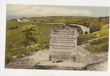 The Sailors Stone Devils Punch Bowl Hindhead 1965 Postcard 807a