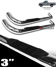"""FOR 1997-2004 F150/F250 LD REGULAR CAB 3"""" STAINLESS SIDE STEP BARS RUNNING BOARD"""