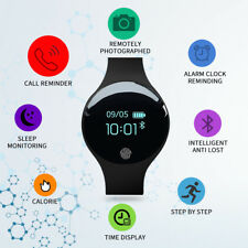 Teens Boys Girls Sport LED Digital Waterproof Watch Pedometer Calorie Wristwatch