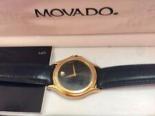 Movado Museum Mens Vintage Watch 87D1863 Comes With Original Box