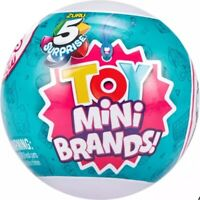 ZURU 5 SURPRISE TOY MINI BRANDS MYSTERY BALL COLLECTION SERIES 1 *YOU PICK*