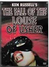 The Fall Of The Louse Of Usher (DVD, 2003) RARE HORROR WRAPPER TORE BRAND NEW