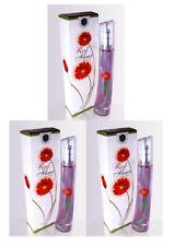 3pcs Red Flower Perfume 3.3 oz Eau de Parfum Spray for Women's Perfume Fragrance