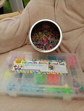 ***L@@K Fantastic Bundle Of Loom Bands With Case, tools, charms etc***