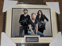Lady A Antebellum signed Autographed 8x10 Photo Picture COA  Framed