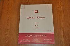 KB Kolster Brandes TR 11 Tango Radio Service Manual Vintage Service Manual TR11