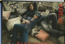 RECLAME 0100 REPLAY BLUE JEANS fall/winter 2006-2007 promocard Post