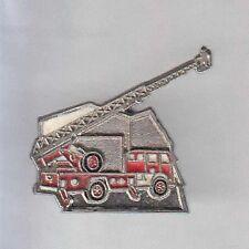 RARE PINS PIN'S .. POMPIER FIRE  CAMION ECHELLE TRUCK GRUE NACELLE ~A8