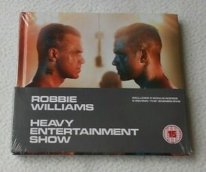 Robbie Williams : Heavy Entertainment Show ~ 16 Track CD + DVD ~ NEW & SEALED