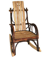 Rustic All Hickory Amish Children's Rocking Chair Kids Child's Rocker Quick Ship
