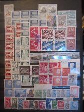 lot older Sweden stamp used some multiples