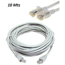 10M METER RJ45 CAT5E ETHERNET NETWORK INTERNET LAN PATCH MODEM ROUTER LEAD CABLE