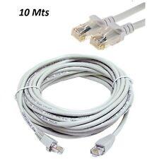 10M METER RJ45 CAT5E ETHERNET NETWORK INTERNET LAN PATCH MODEM ROUTER LEAD CABLE