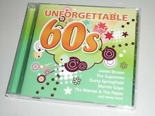 Unforgettable 60 'S CD con The righthouse Brothers James Brown The Tremeloes...