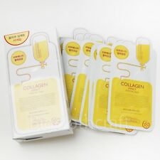 [Ship by USPS] MediHeal Clinic Collagen Impact Essential Mask Pack Sheets 10Pcs