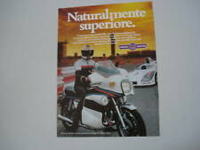 advertising Pubblicità 1979 MOTO YAMAHA 1100 MARTINI