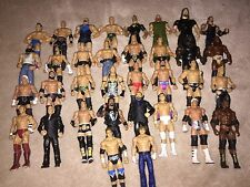 WWE Mattel Lot 2 of 32 Wrestling Figures, Elite, Flashback, Basic, WCW, ECW