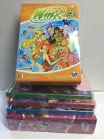 Set 9 DVD WINX Stagione 2 VOL. 1-9 ancora SIGILLATI edizione 2006 Pal 2