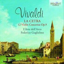 Vivaldi / Federico G - Vivaldi: La Cetra 12 Violin Concertos Op 9 [New CD]